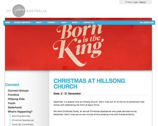 Christmas at Hillsong 2