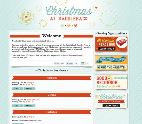 Christmas at Saddleback