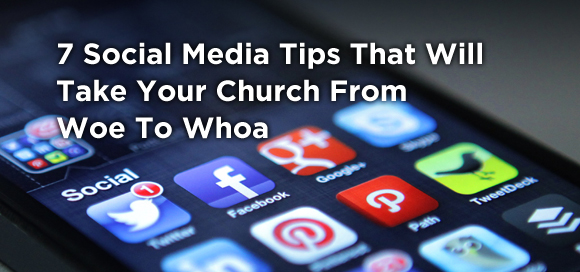 social media tips church