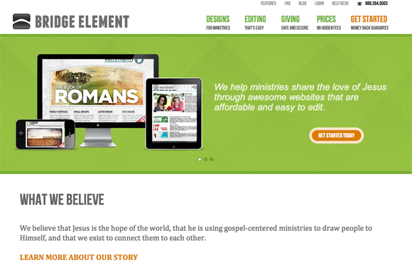 church website solutions