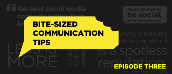Bite-size-communication-tips