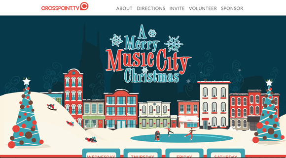 10 Of The Best Church Website Designs This Christmas |