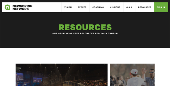 Newspring_resources