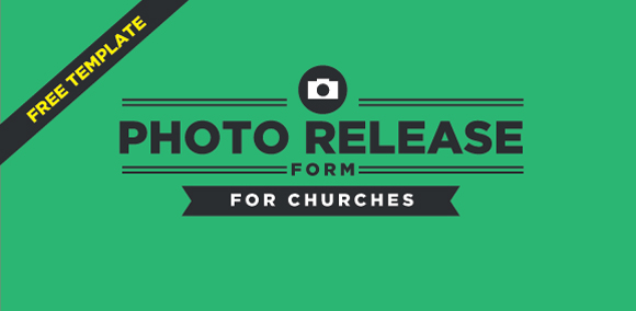 Free Photo Release Form Template For Churches |
