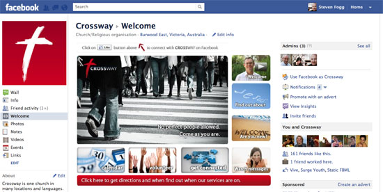 Crossway Facebook Page