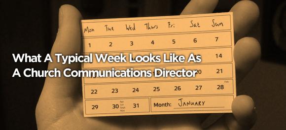 church communications director