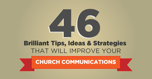 Church communications tips