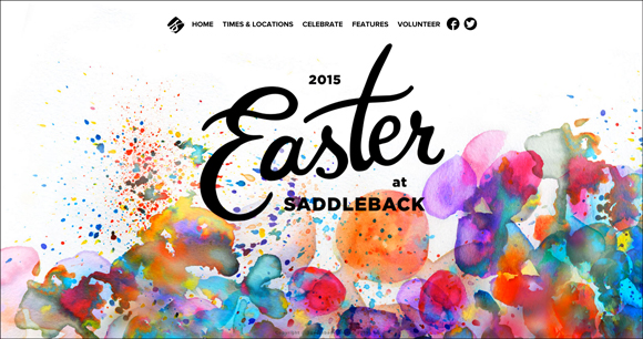 Easter-At-Saddleback-church