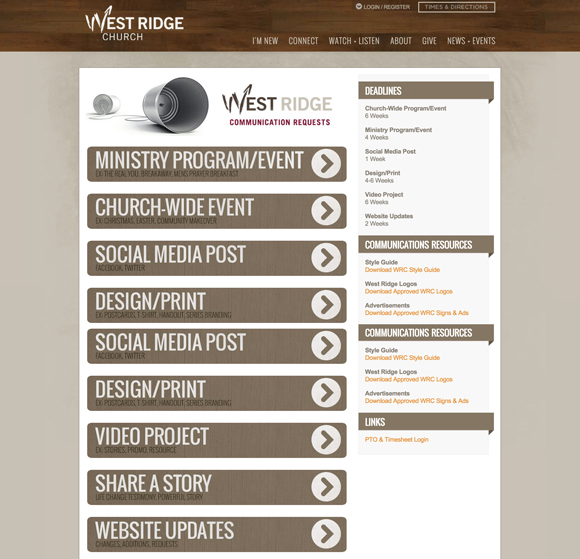 Westridge-request-form
