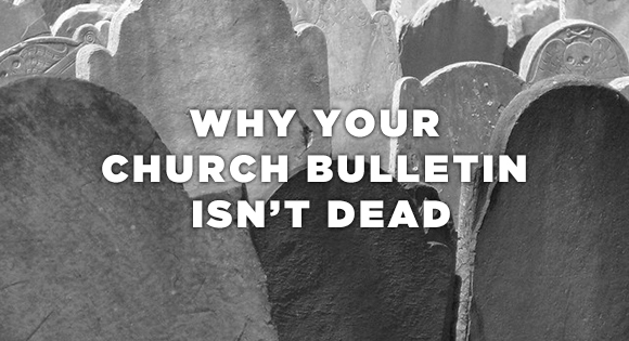how to create a church bulletin