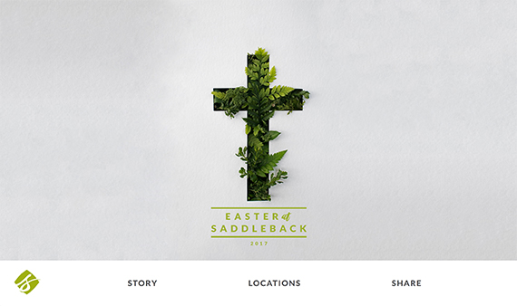 Saddleback_easter_services